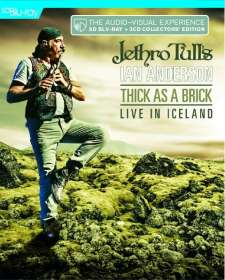 Jethro Tull's Ian Anderson: Thick As A Brick - Live In Iceland (BD+2CD), BR