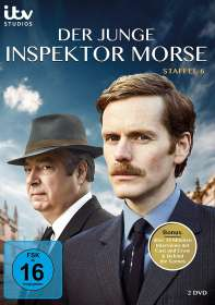 Der junge Inspektor Morse Staffel 6, DVD