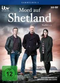 Peter Hoar: Mord auf Shetland Sammelbox 1 (Staffel 1-3), DVD