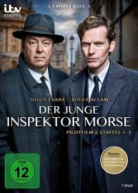 Der junge Inspektor Morse Sammelbox 1 (1-3), DVD