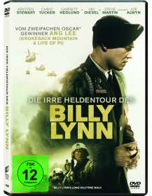 Ang Lee: Die irre Heldentour des Billy Lynn, DVD