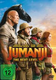 Jake Kasdan: Jumanji: The Next Level, DVD