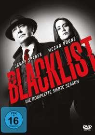 The Blacklist Staffel 7, DVD
