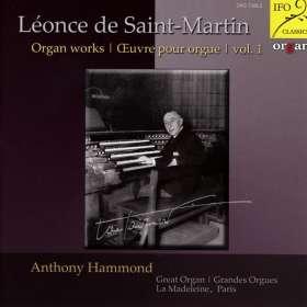 Leonce de Saint-Martin (1886-1954): Orgelwerke, CD
