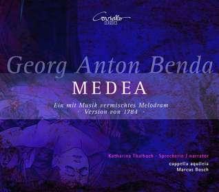Georg Anton Benda (1722-1795): Medea (Melodram), CD