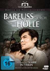 Takeshi Abe: Barfuss durch die Hölle (Komplette TV-Serie), DVD