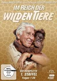 Marlin Perkins: Im Reich der wilden Tiere Staffel 1, DVD