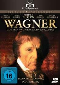 Tony Palmer: Wagner - Das Leben und Werk Richard Wagners (Komplette Miniserie), DVD