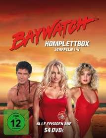 Gregory J. Bonann: Baywatch (Komplettbox Staffel 1-9), DVD