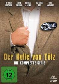 Walter Bannert: Der Bulle von Tölz (Komplettbox), DVD