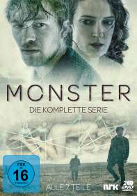 Anne Sewitsky: Monster (Komplette Serie), DVD