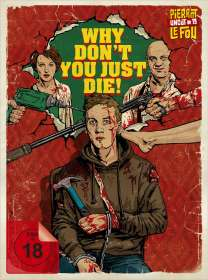 Kirill Sokolov: Why Don't You Just Die! (Blu-ray & DVD im Mediabook), BR