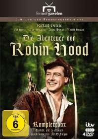 Terry Bishop: Die Abenteuer von Robin Hood (Die ARD-Gesamtedition), DVD