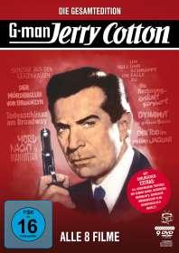 Fritz Umgelter: Jerry Cotton - Die Gesamtedition (8 Filme), DVD
