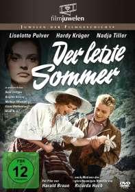 Harald Braun: Der letzte Sommer, DVD