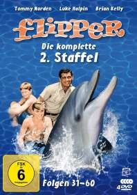 Hollingsworth Morse: Flipper Staffel 2, DVD