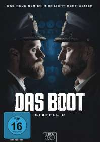 Rick Ostermann: Das Boot Staffel 2, DVD