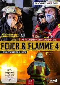 Feuer & Flamme - Mit Feuerwehrmännern im Einsatz Staffel 4, DVD