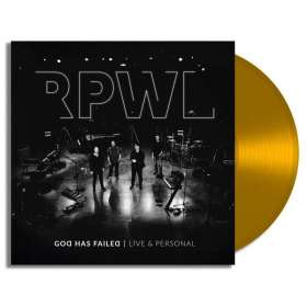 RPWL: God Has Failed - Live & Personal (180g) (Limited Edition) (Gold Vinyl) (signiert, exklusiv für jpc!), LP