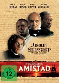 Steven Spielberg: Amistad, DVD