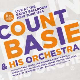 Count Basie (1904-1984): Live At The Savoy Ballroom New York 1954 (The Jazz Collector Edition), CD