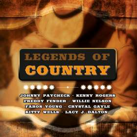 Legends Of Country, CD