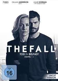Allan Cubitt: The Fall - Tod in Belfast Staffel 1-3, DVD