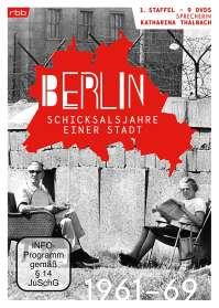 Berlin - Schicksalsjahre einer Stadt Staffel 1 (1961-1969), DVD
