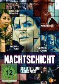 Lars Becker: Nachtschicht 7: Der letzte Job / Ladies first, DVD