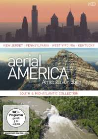 Toby Beach: Aerial America - Amerika von oben: South and Mid-Atlantic Collection, DVD