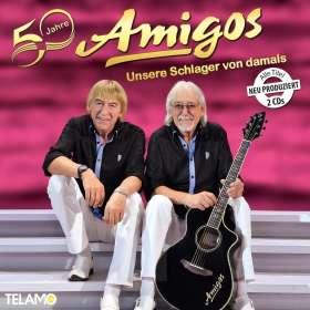 Die Amigos: 50 Jahre: Unsere Schlager von damals, CD