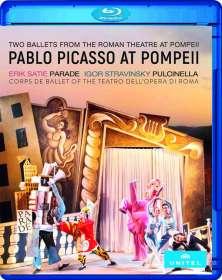 Pablo Picasso at Pompeji (2 Ballette aus dem antiken römischen Theater in Pompeji), BR