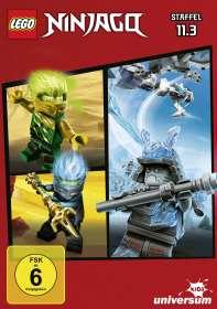LEGO Ninjago 11 Box 3, DVD