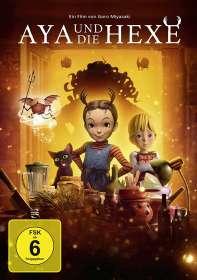 Goro Miyazaki: Aya und die Hexe, DVD