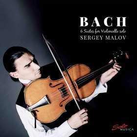 Johann Sebastian Bach (1685-1750): Cellosuiten BWV 1007-1012, CD