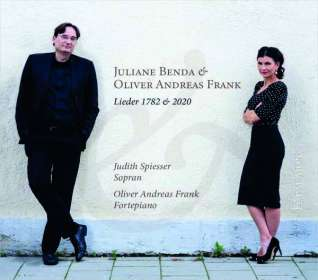 Juliane Benda (Reichardt) (1752-1783): Lieder (1782 & 2020) (Deluxe-Ausgabe im Hardcover-Booklet), CD