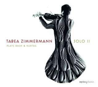 Tabea Zimmermann - Solo II (Werke von Bach & Kurtag), CD