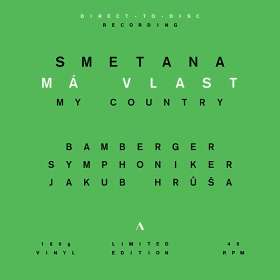 "Bedrich Smetana (1824-1884): Mein Vaterland (incl. ""Die Moldau"") (180g / direct-to-disc Recording / Limited Edition), LP"