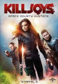 Killjoys - Space Bounty Hunters Staffel 5 (finale Staffel), DVD