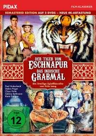 Fritz Lang: Der Tiger von Eschnapur / Das indische Grabmal, DVD