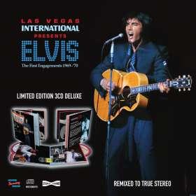 Elvis Presley (1935-1977): Las Vegas International: The First Engagements 1969 - 1970, CD