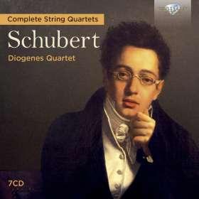 Franz Schubert (1797-1828): Sämtliche Streichquartette, CD