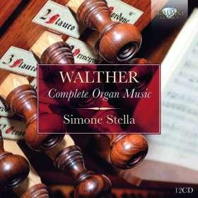 Johann Gottfried Walther (1684-1748): Complete Organ Music, CD