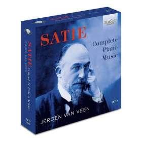 Erik Satie (1866-1925): Sämtliche Klavierwerke, CD