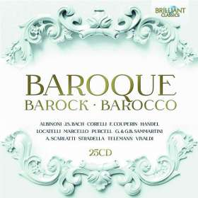 Baroque - Barock - Barocco, CD