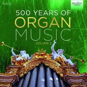 500 Jahre Orgelmusik Vol.2, CD
