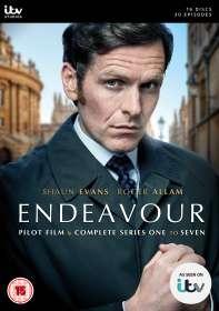 Endeavour Season 1-7 (UK Import), DVD