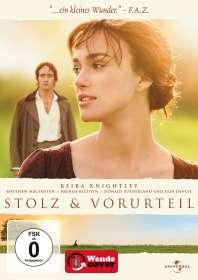 Joe Wright: Stolz und Vorurteil (2005), DVD