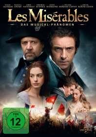 Tom Hooper: Les Miserables (2012), DVD
