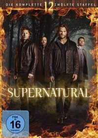 Supernatural Staffel 12, DVD